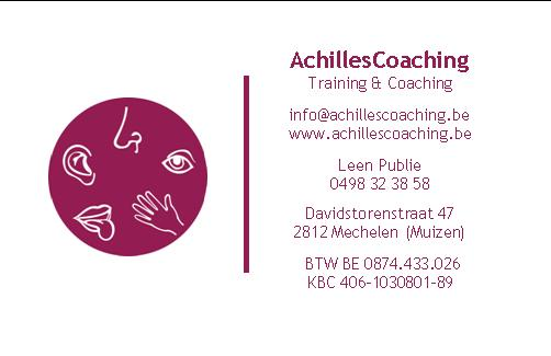 Relatiecoaching - Achillescoaching &Training