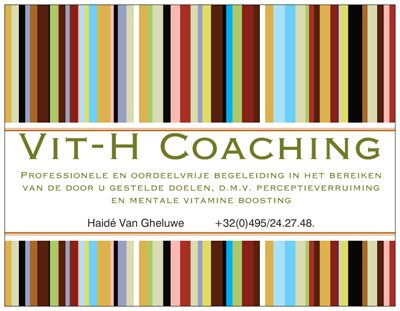 Executive coaching - Haidé Van Gheluwe